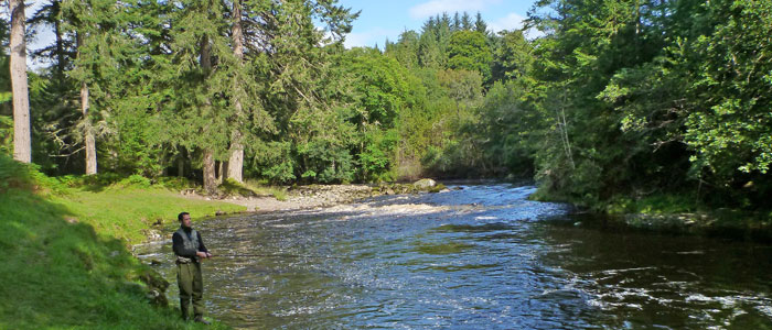 salmon fishing on the novar fishings, river alness or river averon – beat 4, hoch pool
